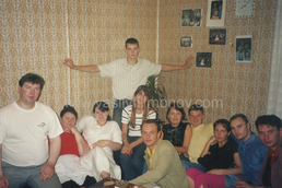 The pastor Vasily Filimonov - family 6