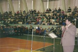 the pastor Vasily Filimonov - services at the Sports Palace 26