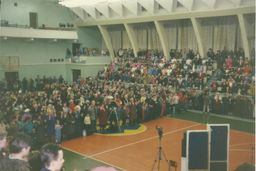 the pastor Vasily Filimonov - services at the Sports Palace 9