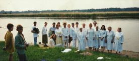 the pastor Vasily Filimonov mission - water Baptism 7