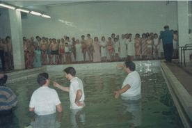 the pastor Vasily Filimonov mission - water Baptism 6